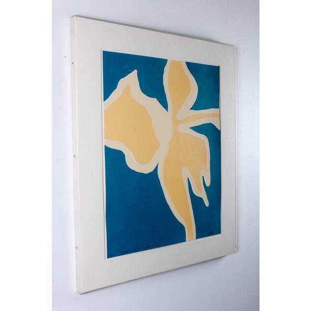 Blue Harriet Stanton Intaglio Print For Sale - Image 8 of 11