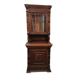 19th Century Belgian Hunt Cabinet For Sale