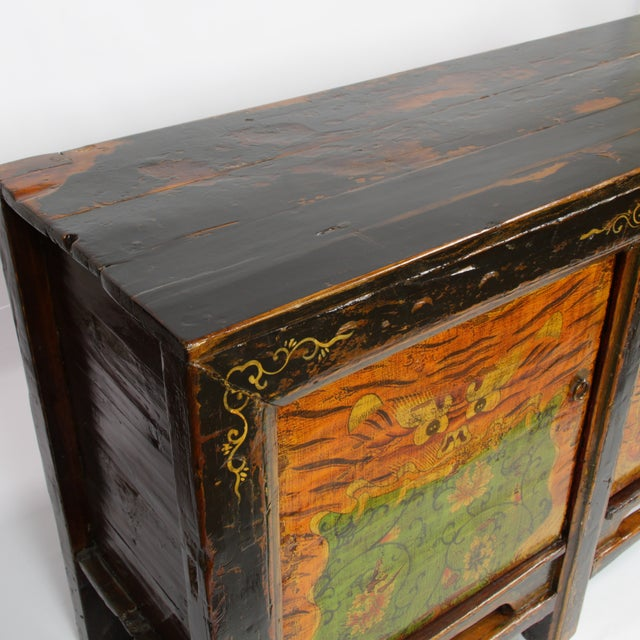 19th-C. Mongolian Tiger Sideboard - Image 2 of 3