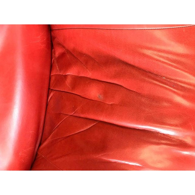 Pair of Toshiyuki Kita for Cassina Wink Convertible Leather Lounge Chairs For Sale - Image 10 of 13