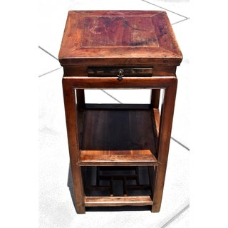 19th Century Chinese Antique Side Table Lamp Table Preview