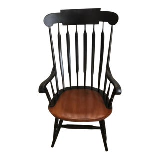 Hitchcock Maple Rocking Chair For Sale