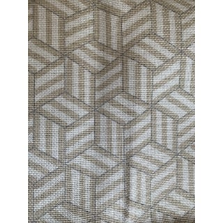Miles Redd for Schumacher Tumbling Blocks Fabric For Sale