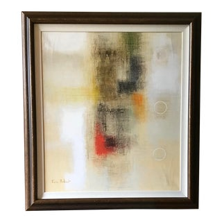 Original Abstract Oil Painting by Eric Balint For Sale