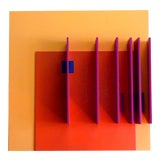 Image of Structurist Relief No. 71 by David John Barr For Sale