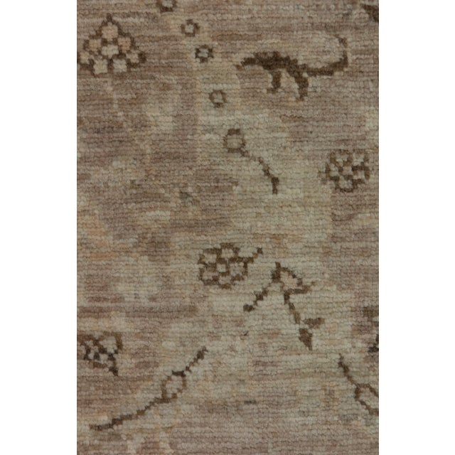 """New Oushak Hand Knotted Area Rug - 5'2"""" x 6'3"""" - Image 3 of 3"""