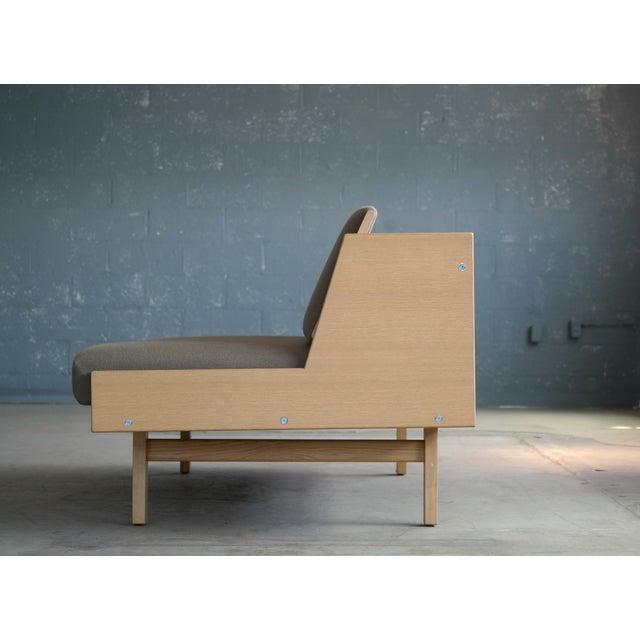 Oak Hans Wegner for GETAMA Model 258 Oak Sofa or Daybed For Sale - Image 7 of 11