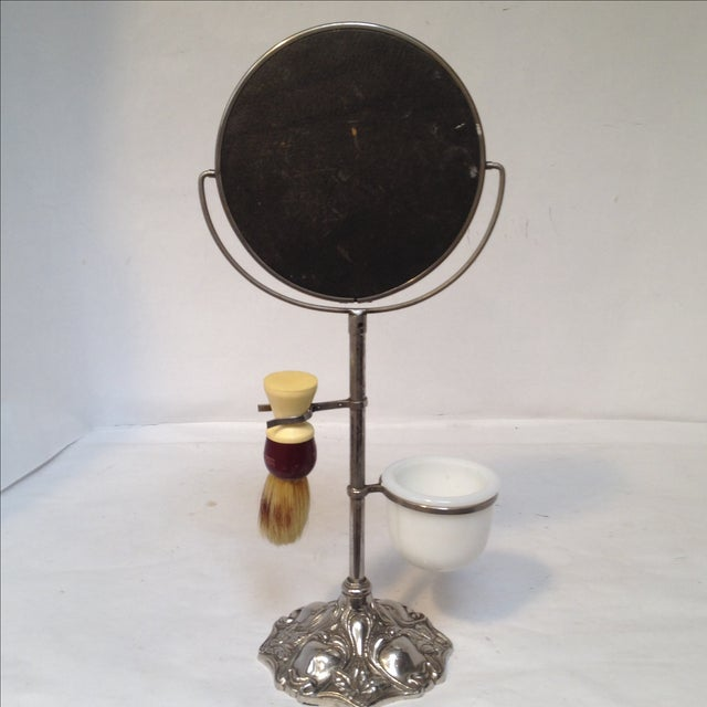 Antique Shaving Stand For Sale - Image 10 of 11