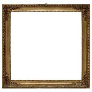 20th Century Italian Gilded Wood Frame For Sale