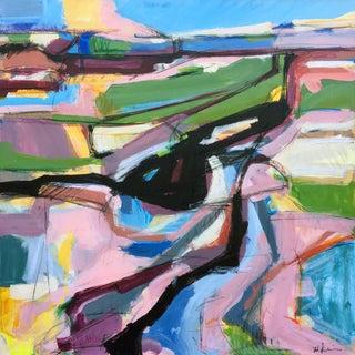 Big Island Road Acrylic Painting by Heidi Lanino For Sale