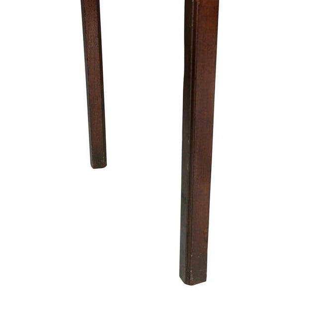 Late 18th Century George III Mahogany Side Table For Sale - Image 5 of 9