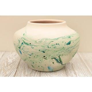 Nemadji Marbled Pottery Vase Preview