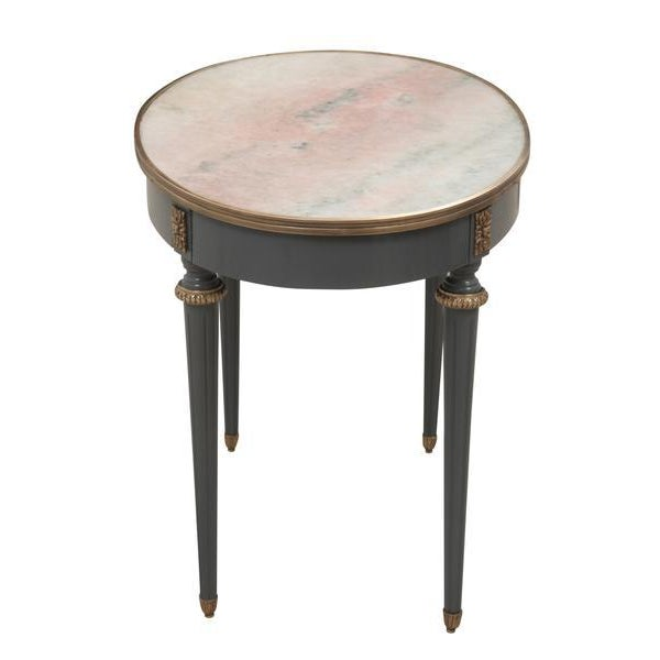 Marble Top Accent Table Chairish