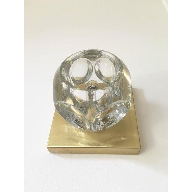 Sciolari Glass & Brass Sconce - Image 8 of 10