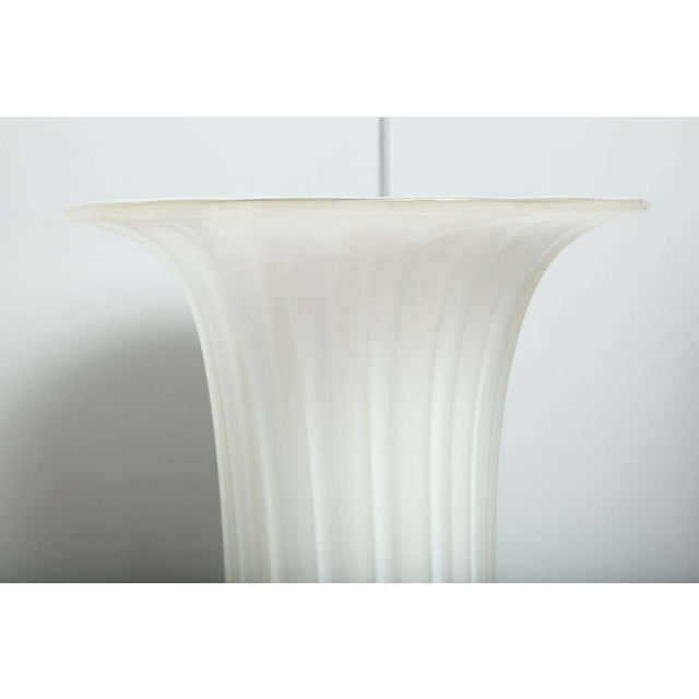 Murano Glass Floor Vases - A Pair For Sale - Image 9 of 10