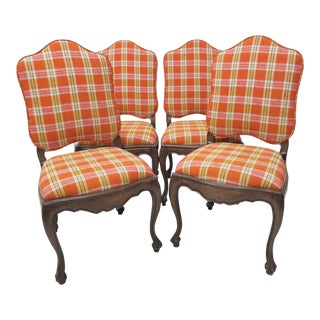 Louis XV Style Dining Chairs - Set of 4 For Sale