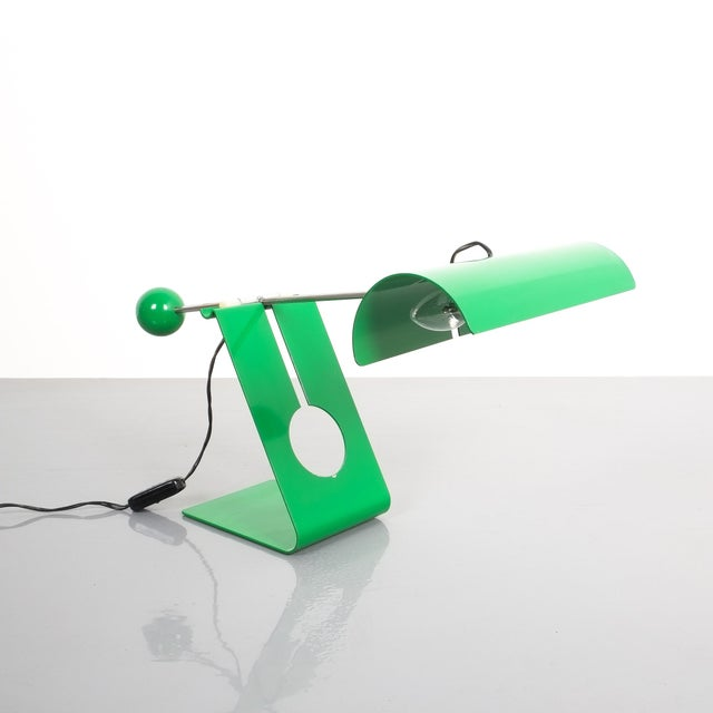 Mid-Century Modern Mauro Martini Adjustable Counterweight Table Lamp Picchio, Italy, Circa 1965 For Sale - Image 3 of 13