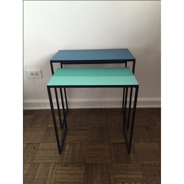 CB2 Nesting Tables Pair - Set of Two - Image 2 of 4