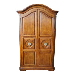 Henredon French Inspired Armoire Mahogany Wardrobe