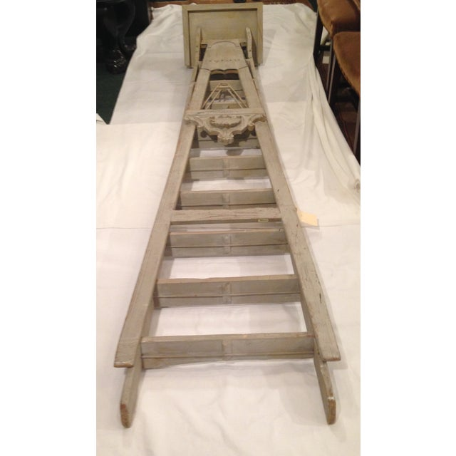 19th Century 10-Step French Artist Ladder - Image 2 of 6