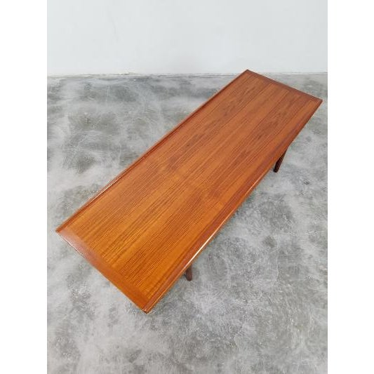 1960s Mid-Century Danish Coffee Table by Grete Jalk For Sale In Los Angeles - Image 6 of 11