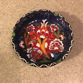 Hand-Painted Ceramic Ashtray Preview