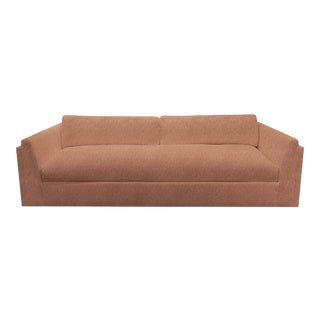 Repose Apricot Sofa by the Drawing Room Atl For Sale