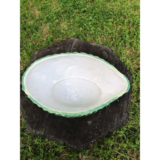Farmhouse Mottahedeh Cabbage Tureen With Snail Lid For Sale - Image 3 of 5