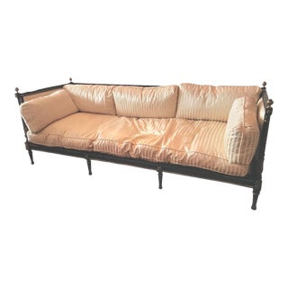 Traditional Ej Victor Historic Newport Collection Sofa For Sale