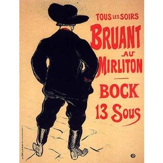 1966 Mourlot Toulouse Lautrec Bruant Au Mirliton Lithograph 11 For Sale