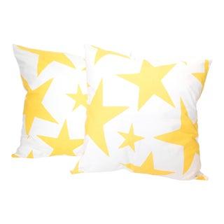 """Lulu DK for Schumacher """"Star"""" Print Pillow For Sale"""