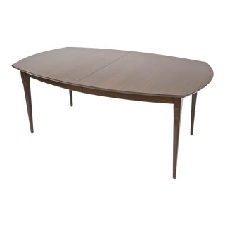 Carlo de Carli for Singer and Sons Walnut Extension Dining Table For Sale