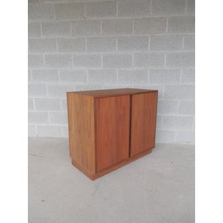 Danish Modern Style 2 Door Credenza Cabinet ( B ) Preview