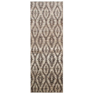 "Aara Rugs Inc. Navajo Hand Knotted Runner Rugs - 9'10"" X 3'3"" - a Pair For Sale"
