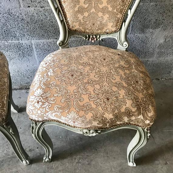 Brown 1900s Vintage Louis XVI Chairs- A Pair For Sale - Image 8 of 11