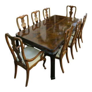 20th Century Traditional Drexel Dining Set - 9 Pieces For Sale