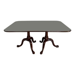 Henkel Harris Black Cherry Dining Table For Sale