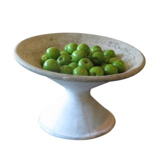 Large Mid-Century Concrete Bowl For Sale