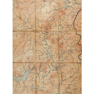 Luzerne New York 1903 Us Geological Survey Folding Map For Sale