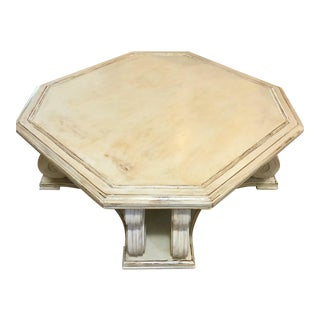 Transitional Mersman Octagon Coffee Table
