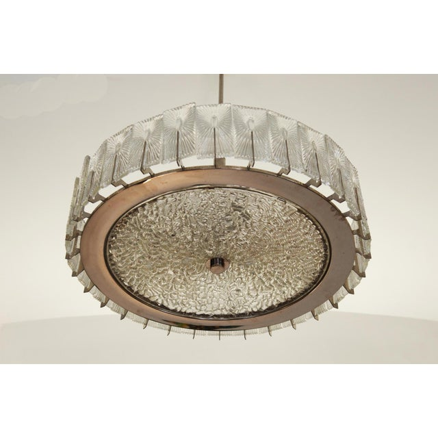 Large Austrian Chandelier by Rupert Nikoll, 1950s For Sale - Image 9 of 11