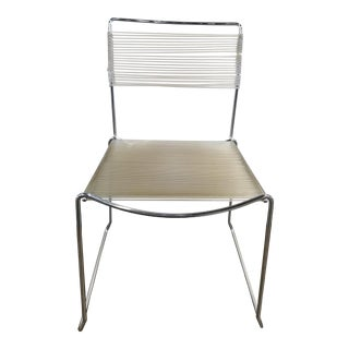 Stacking Chrome Chair For Sale