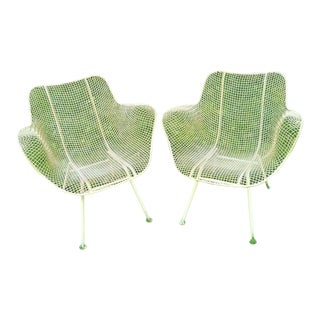 Mid Century Patio Arm Chairs by Russel Woodard, Unmarked - a Pair For Sale