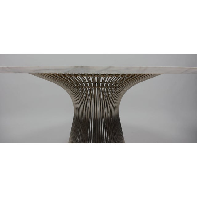 Mid-Century Modern Mid Century Modern William Platner 70's Marble Top Table For Sale - Image 3 of 4