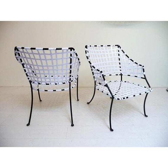 Hollywood Regency Vintage Brown Jordan Patio Lounge Chairs - A Pair For Sale - Image 3 of 7