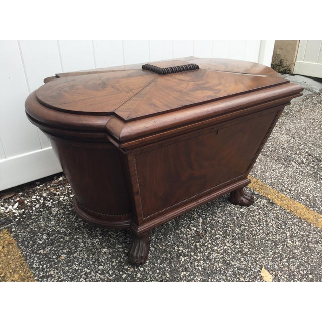 English Regency Mahogany Cellarette For Sale In Tampa - Image 6 of 12