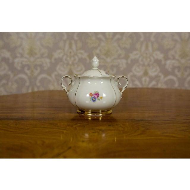 1918-1948 Karlskrona Porcelain Coffee Service for 6 - Set of 15 For Sale - Image 11 of 13