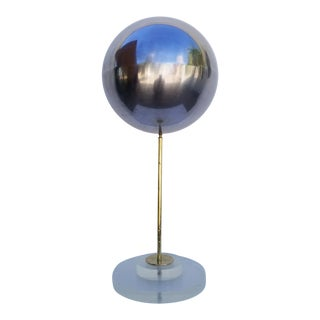 1970s Vintage Chrome Ball Sculpture For Sale