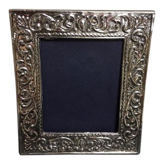 Ornate Sterling Silver Frame