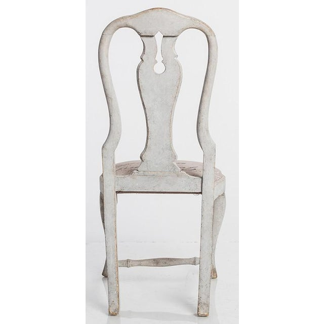19th Century Antique Swedish Dining Chairs For Sale - Image 5 of 6